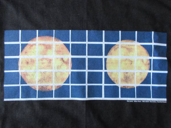Kiki Smith Fotofolio Yellow Moon Tシャツ XL キキ スミス 彫刻 COLAB Tony トニー ミニマリズム Henry Gray フォト ART【deg】