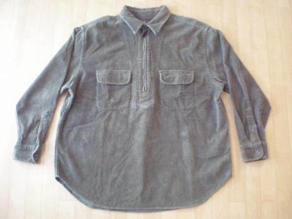 RRL チンストラップ付き・プルオーバー・コーデュロイ・シャツ サイズ・S 正規品 -721