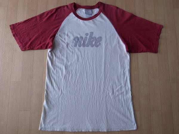 ナイキ NIKE 筆記体 ラグラン 半袖 Tシャツ M NSW【deg】