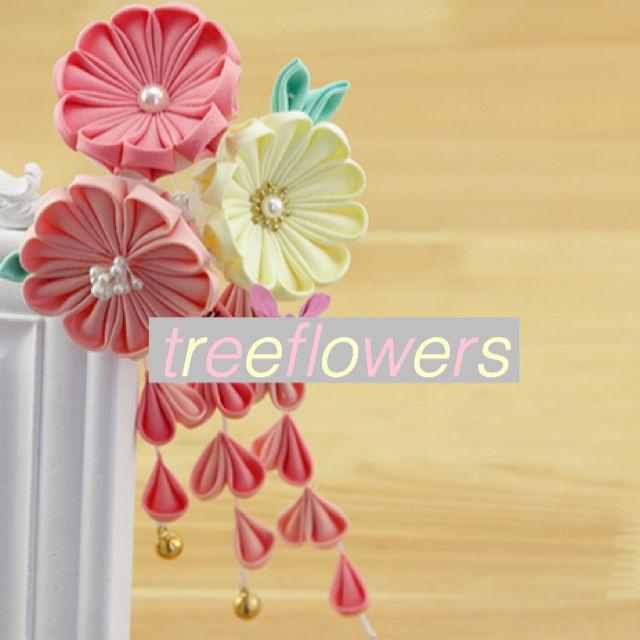 【ハンドメイドキット】つまみ細工*パステルカラー3輪のお花のヘアクリップ