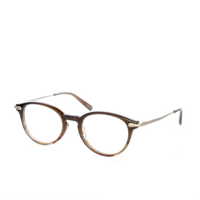 EnaLloid:エナロイド 《Ryan -ライアン  col.134 Brown Gradation》眼鏡 コンビネーションボストン
