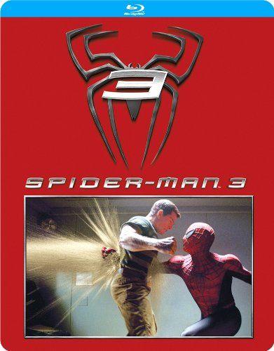【Amazon.co.jp限定】スパイダーマン3 スチールブック仕様[SteelBook] [Blu-ray]