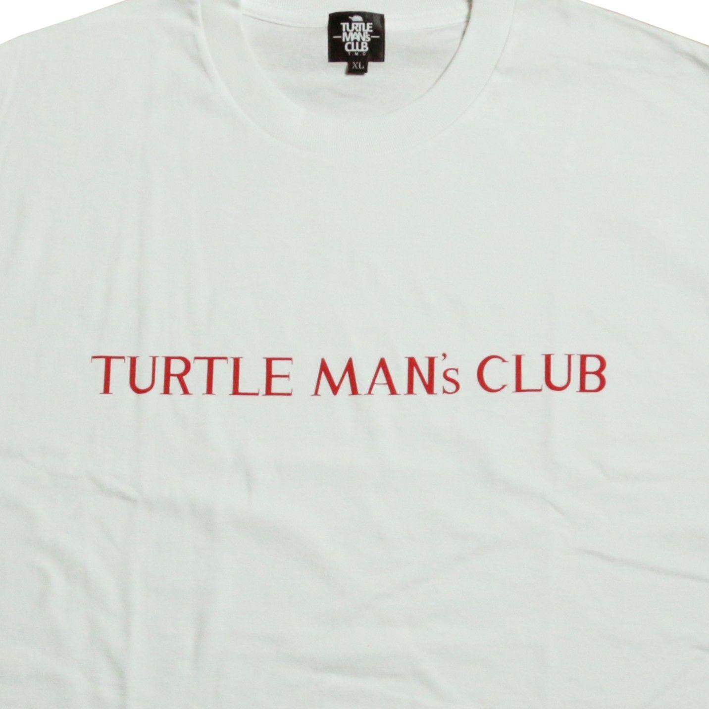 TURTLE MAN's CLUB T-SHIRTS   [WHT/RED] 【再入荷予約】