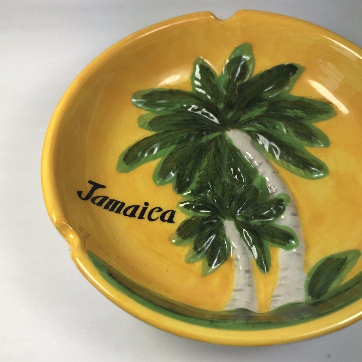 再入荷!ジャマイカ直輸入 ヤシの木  灰皿