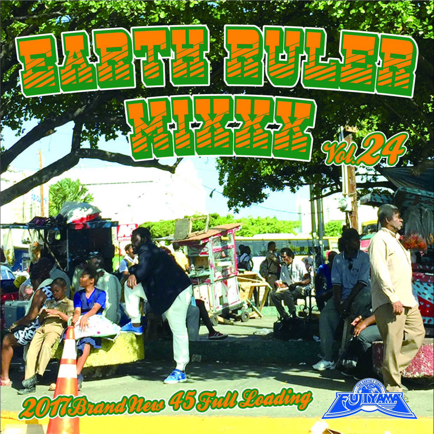 FUJIYAMA 「EARTH RULER MIXXX vol.24」Mixed by ACURA