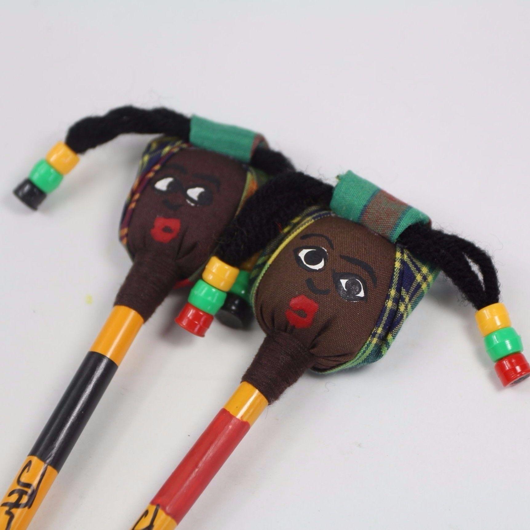 ジャマイカ直輸入 ハンドメイド鉛筆