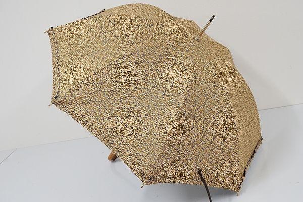 S0822 um-feel MOONBAT 晴雨兼用日傘 USED極美品 リバティ UV 47cm 中古 ブランド