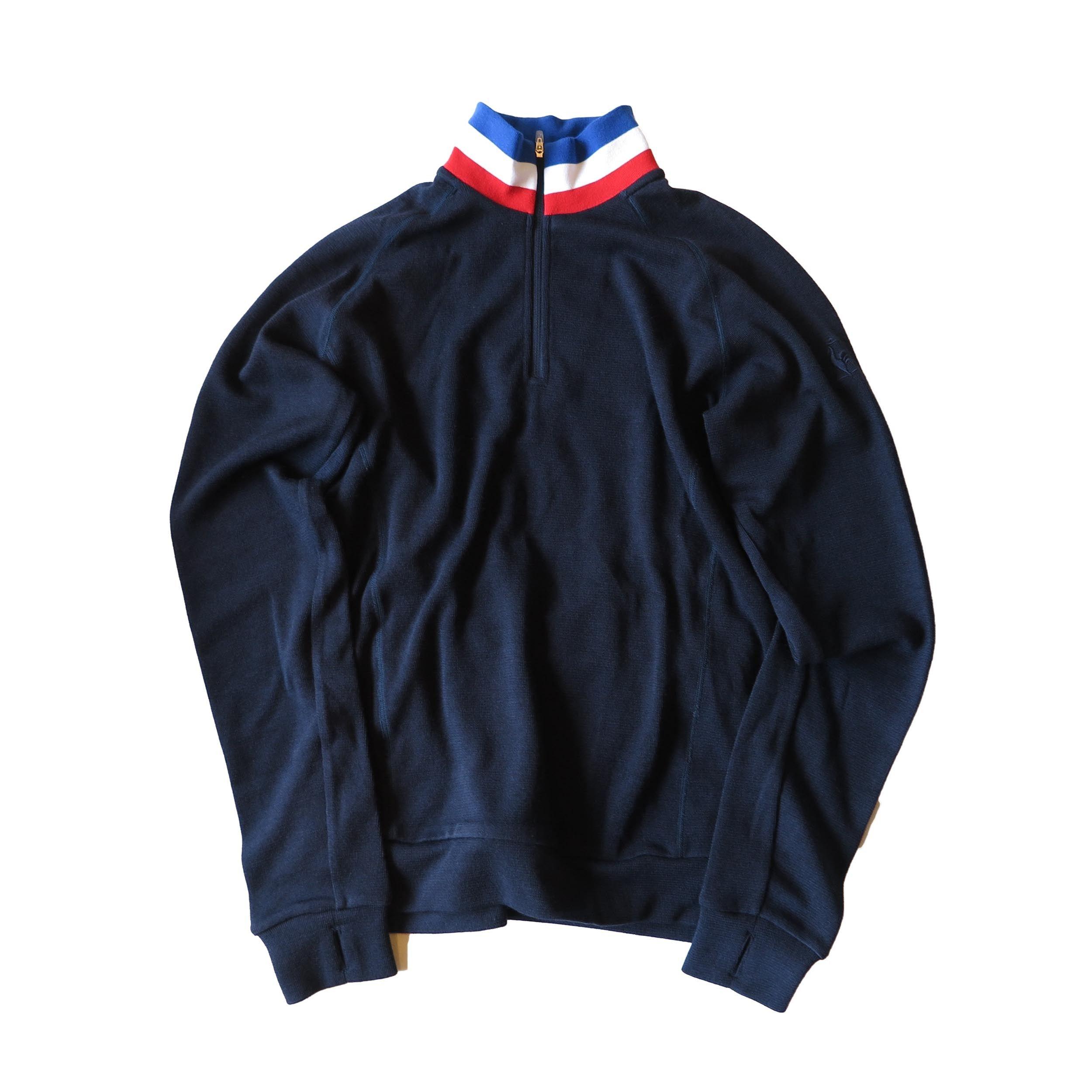 le coq sportif le urban style 長袖ZIPシャツ