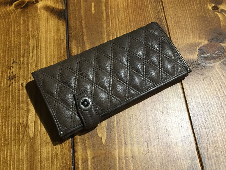 PAST    - Gray Line - LONG WALLET