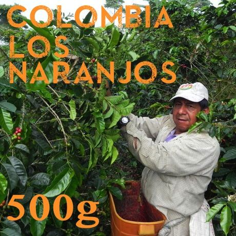 【SPECIALTY COFFEE】500g Colombia Los Naranjos 1,600-1,900m Fully Washed / コロンビア ロス・ナランホ フリーウォッシュト