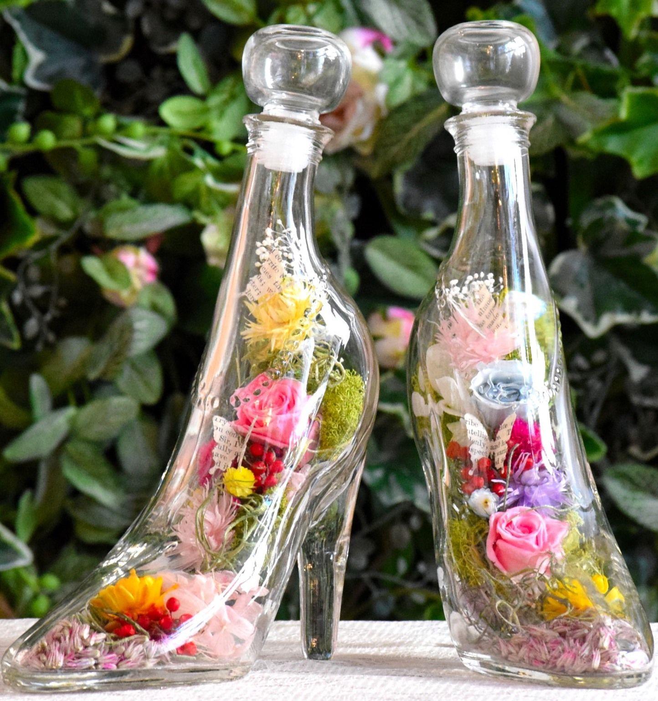 ガラスの靴ボタニカル(allプリザーブドフラワー)