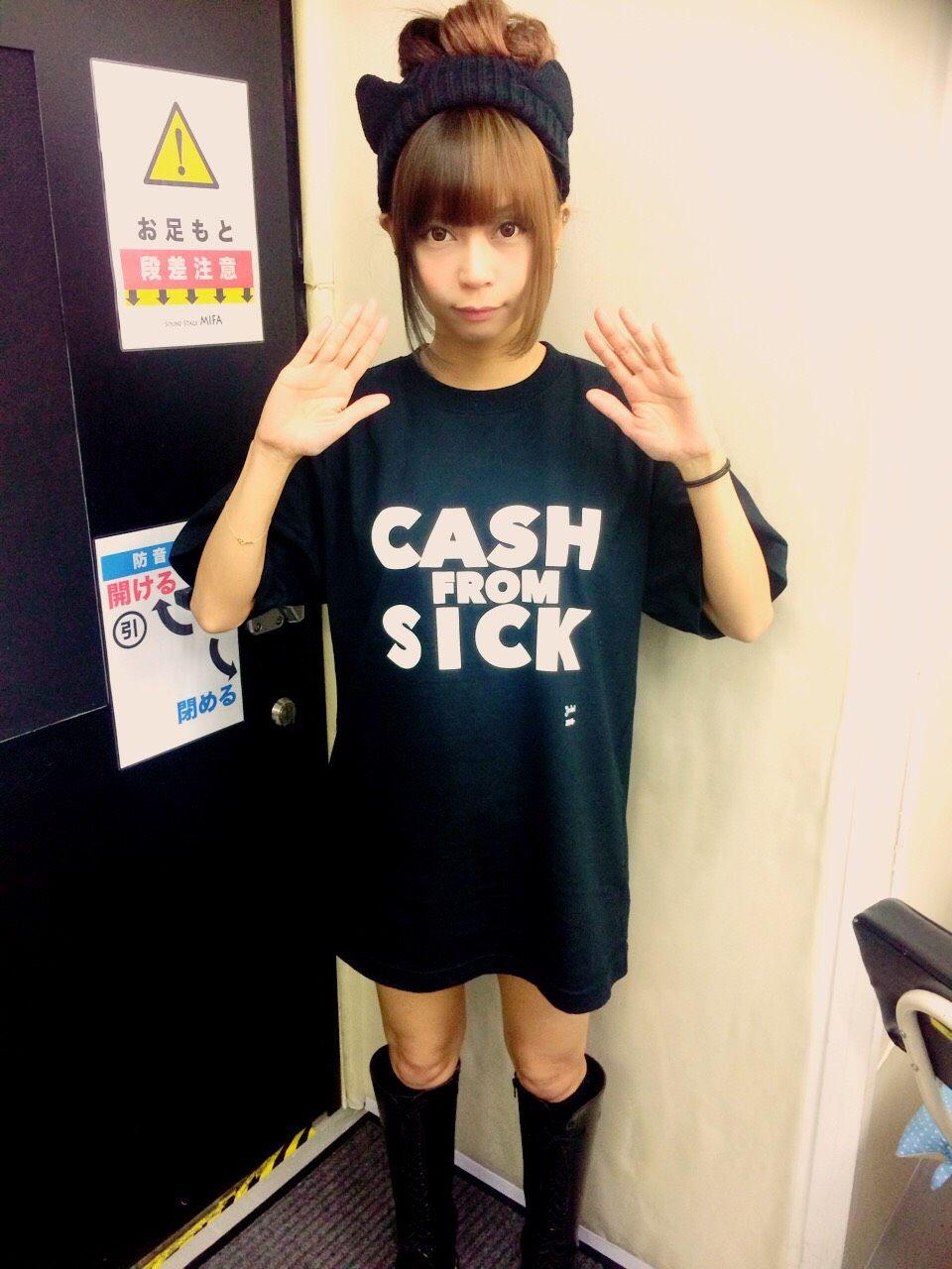 病ンドル [CASH FROM SICK Tシャツ]