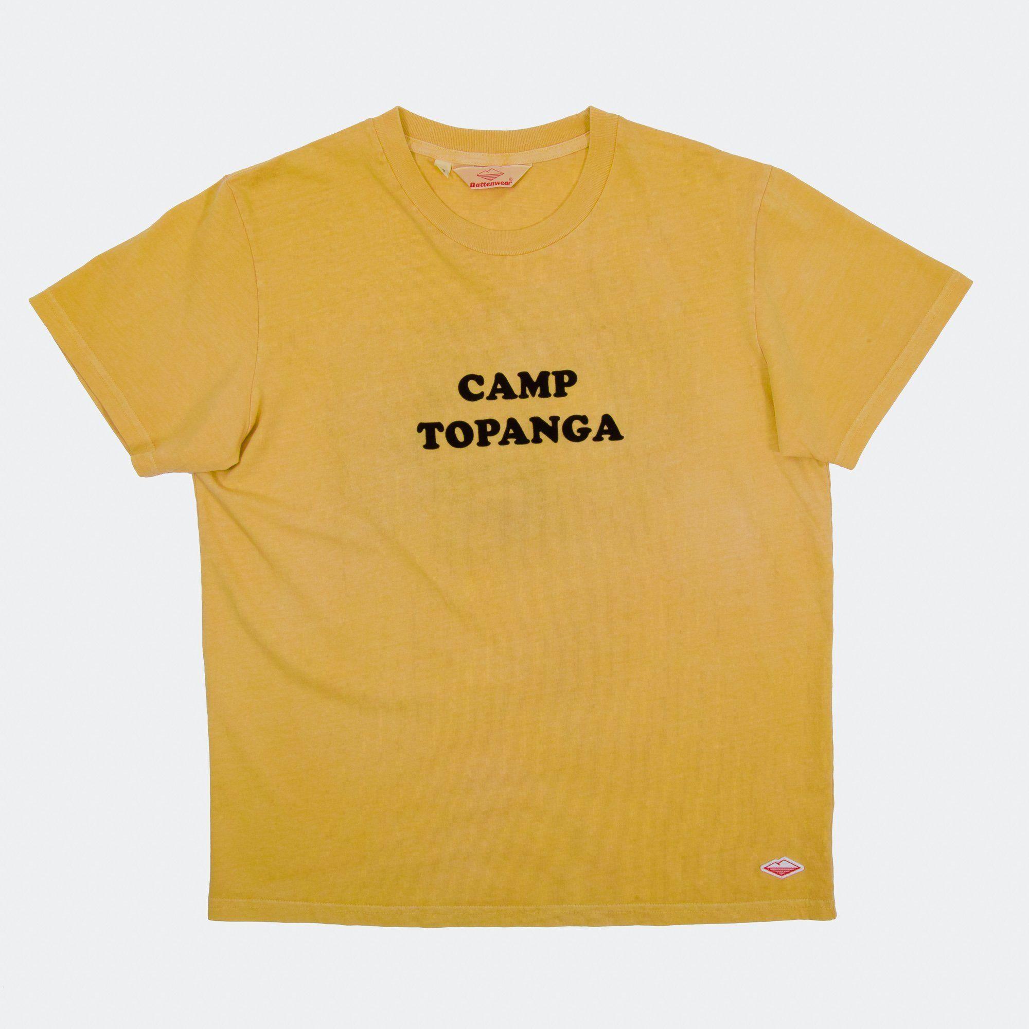 Battenwear S/S Camp Topanga Tシャツ