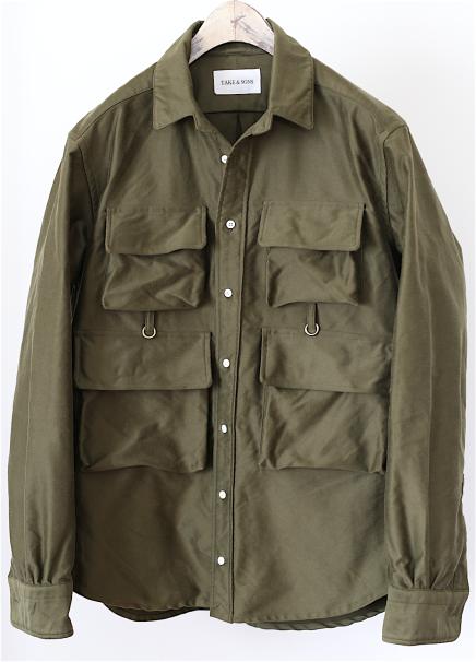 Flyman Shirt, Khaki