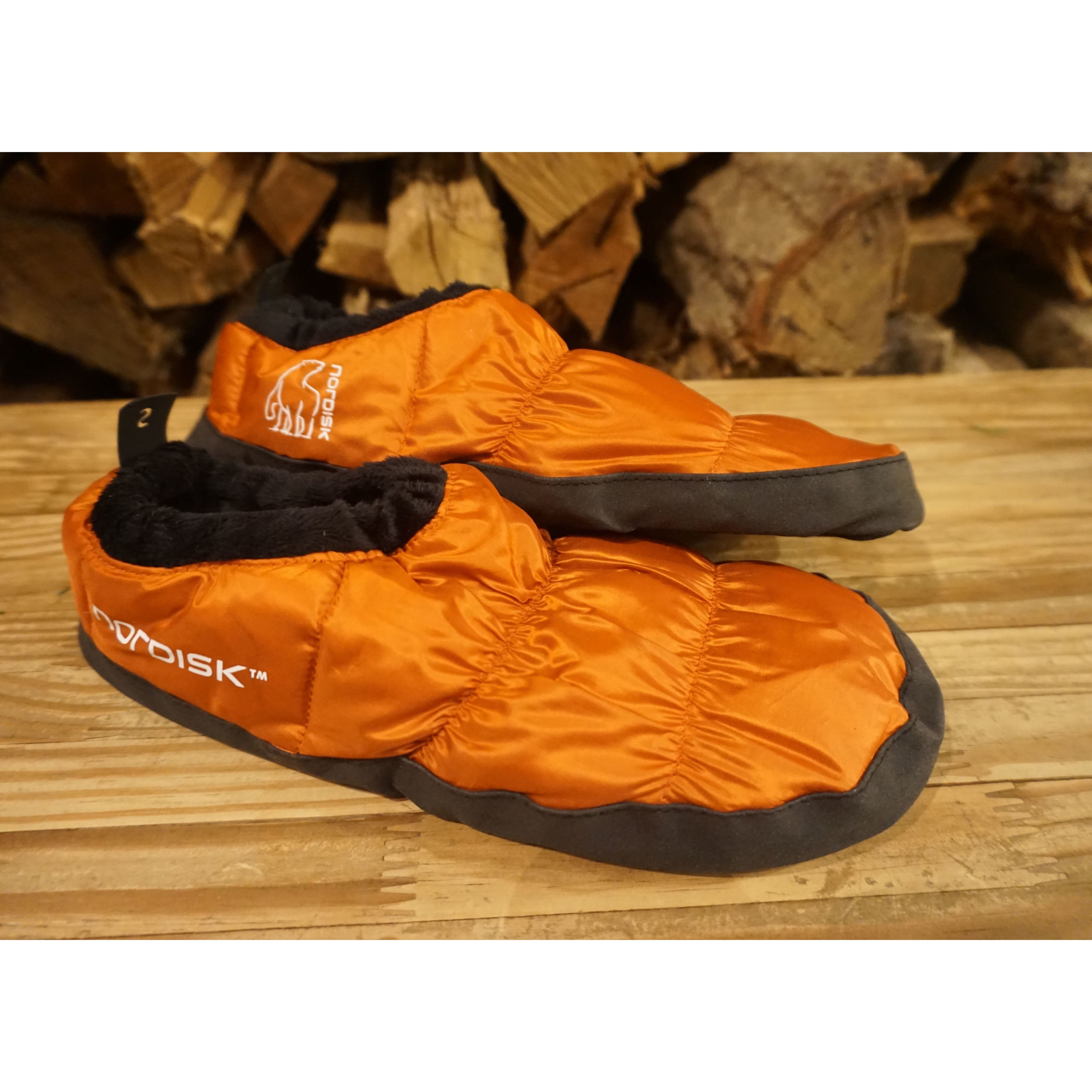 Mos Down Shoes【Red Orange】
