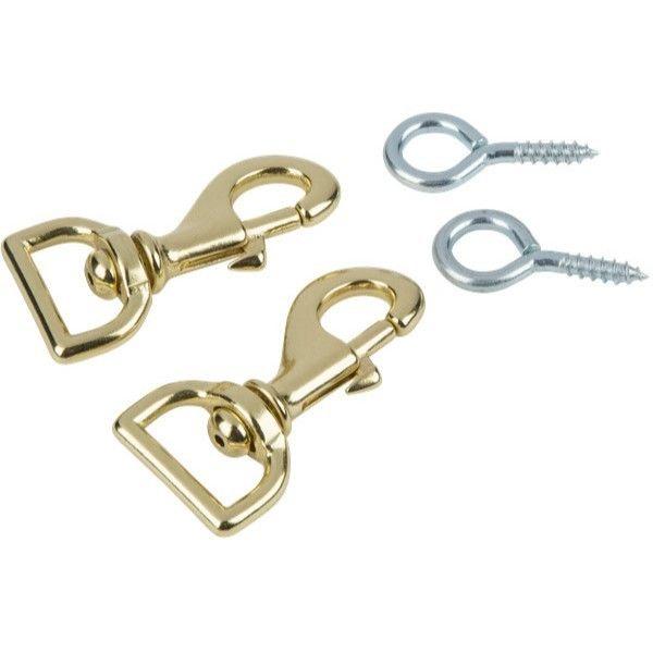EVH Strap Clasps w/ Eye Hooks [#BG003]