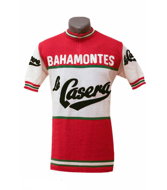 Vintage Velo Classics / La Casera Jersey/ ラ カセラ メリノウールジャージ(VV-19769)