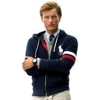 人気 新入荷 POLO RALPH LAUREN ポロ・ラルフローレン ジャケット  パーカー 人気 上質 商品 メンズ 用 男性用 紺色