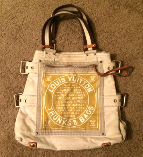 Louis Vuitton - レディース トートバッグ USED 正規品 [USから速達配送料金込]