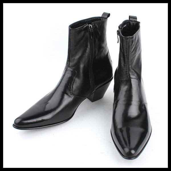 ハンドメイドアンクルブーツ★mshj0073 ハンドメイド メンズ靴 チャッカブーツ サイドゴアブーツ ブーツ メンズファッション アンクルブーツ