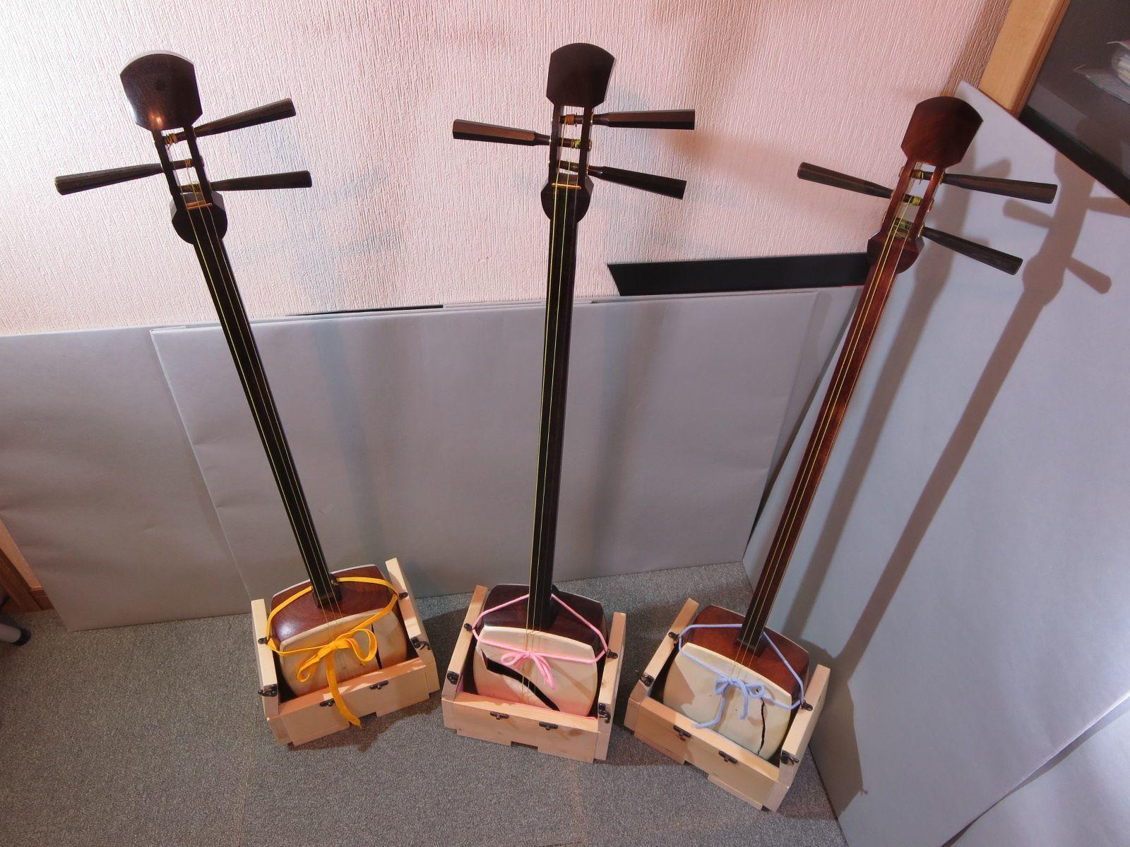 三味線箱 正座椅子 変形します 中棹用 和楽器ヤマダ