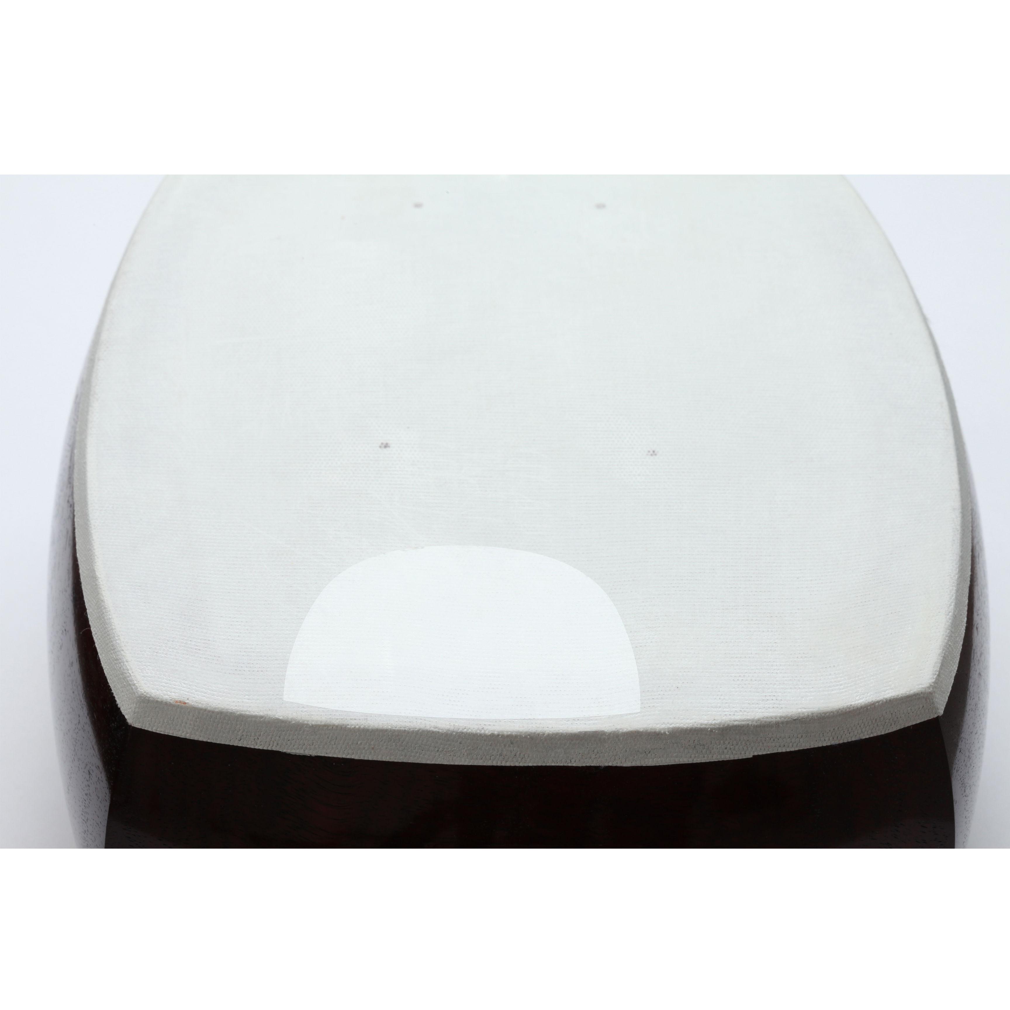 [29083]【地唄】両面 一般用三味線人工皮リプル張り替え