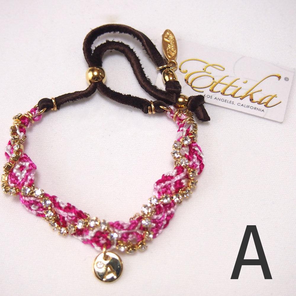 "【Ettika】Friendship Bracelet (#B668) ""A"""