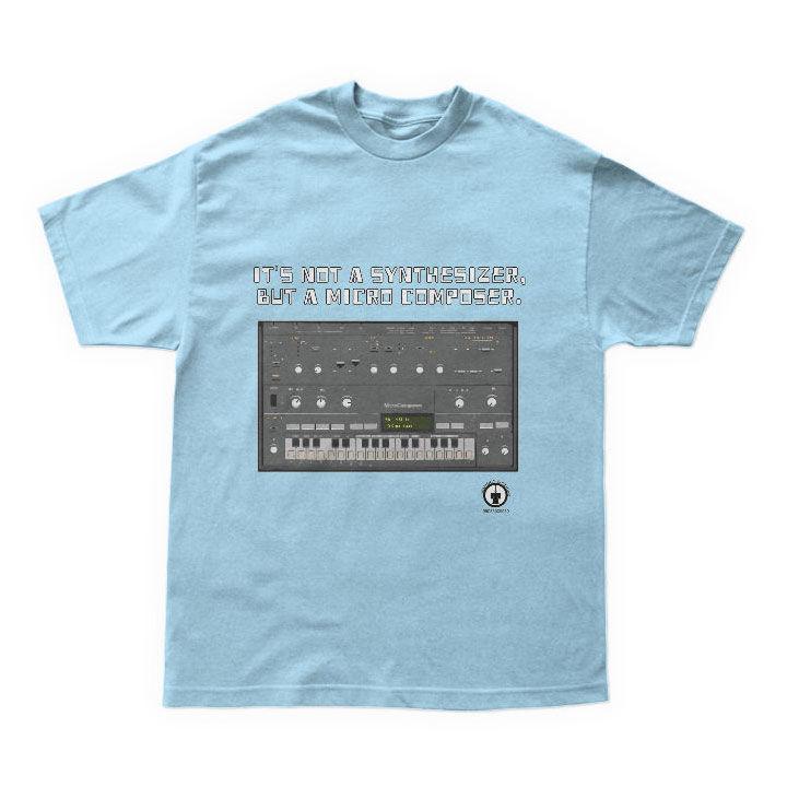 隠れた名シンセ202クローンTシャツ