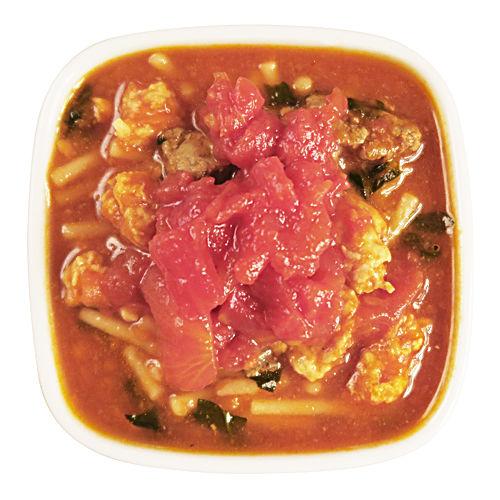 鶏肉とレバーのトマトパスタ〈70g〉