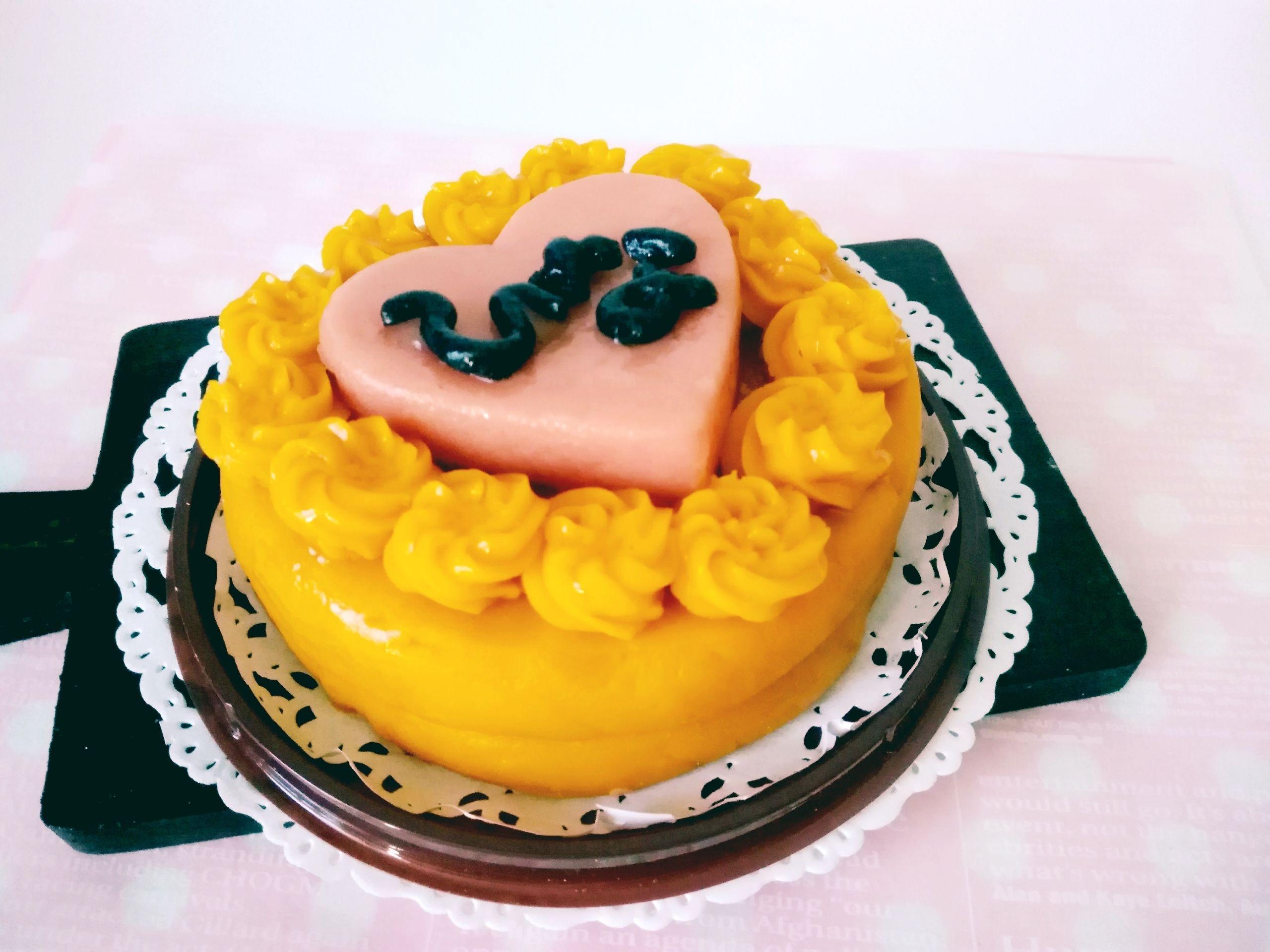 お名前入り★犬用ケーキ小麦粉アレルギー対応2段ケーキ(ドライささみ&チーズ)