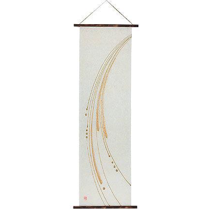 創作和紙インテリアタペストリー「紙禅」~Shi-Zen 和モダン樹脂デザイン4015