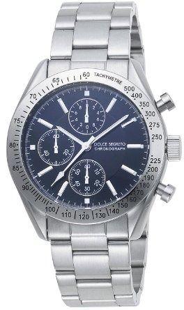 [ドルチェ セグレー ト]DOLCE SEGRETO 腕時計 SM101BK グ ランドクロノ メンズ