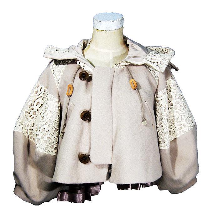 【30%OFF】HELMAPH & RODITUS ヘルマフ アンド ロディタス almost n-3b short coat