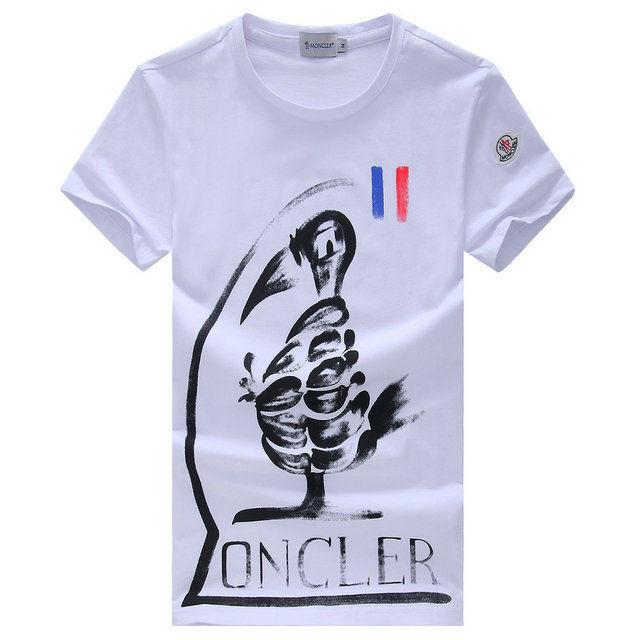MONCLER半袖新作 3色 運動風 モンクレールTシャツ 送料無料