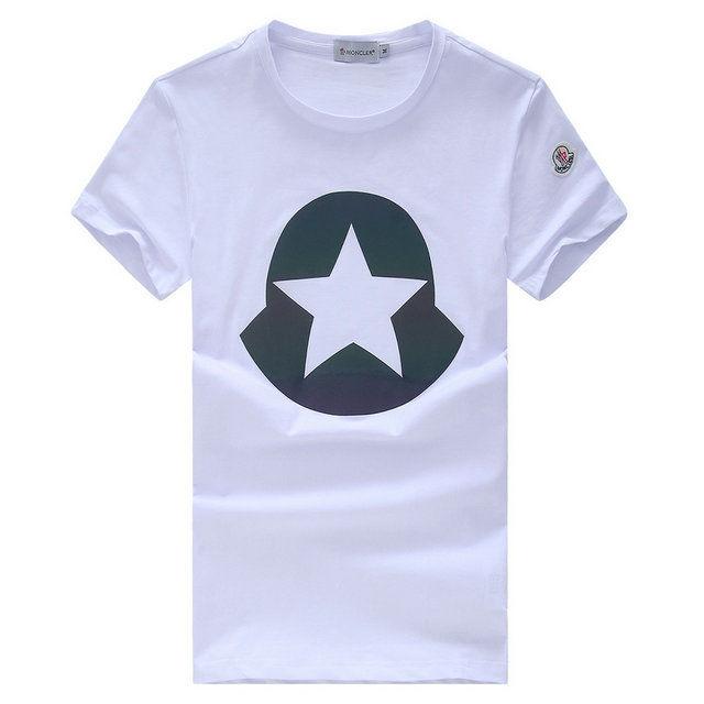 モンクレール半袖 高品質 4色 MONCLERTシャツ カジュアル