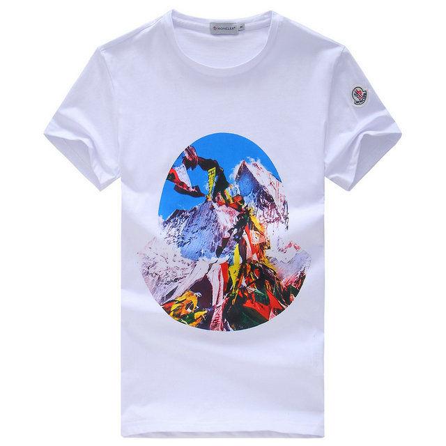 モンクレール半袖 カジュアル 運動風 MonclerTシャツ 送料無料