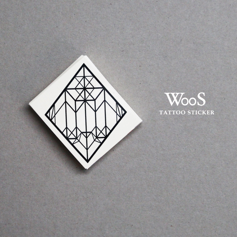 WooS Tattoo Sticker // M&W