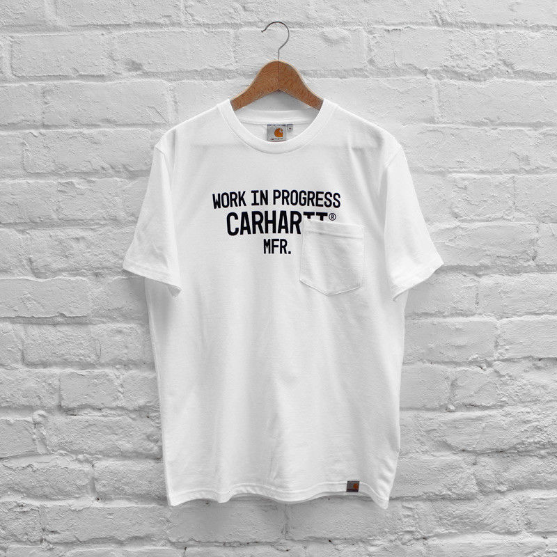 ポケットTシャツ byカーハート