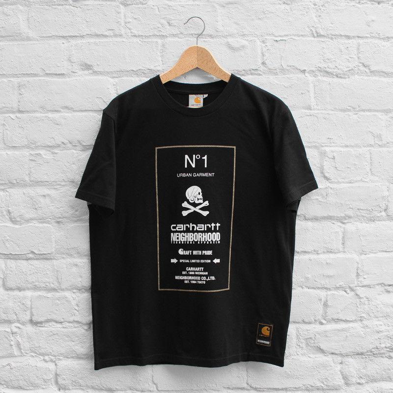 NEIGHBORHOOD×カーハート WIPナンバーワンTシャツ