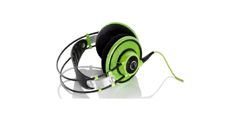 【新品 送料無料】AKG アウトレット オープンエアヘッドフォン Q701GREEN Q701 緑