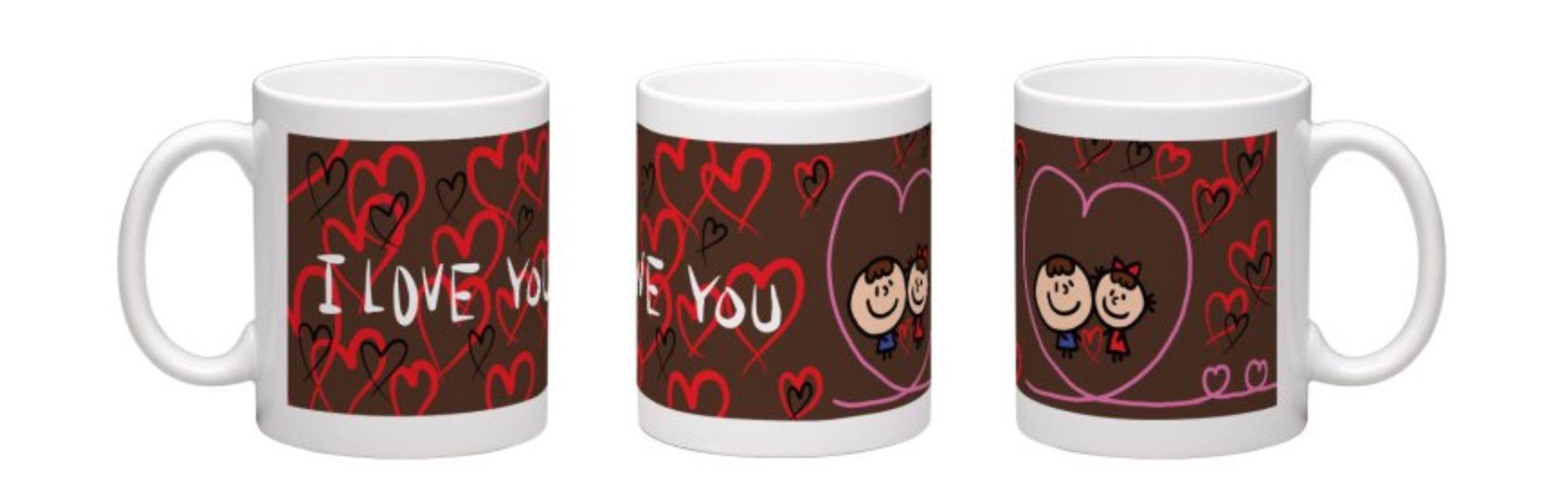【I love you】マグカップ