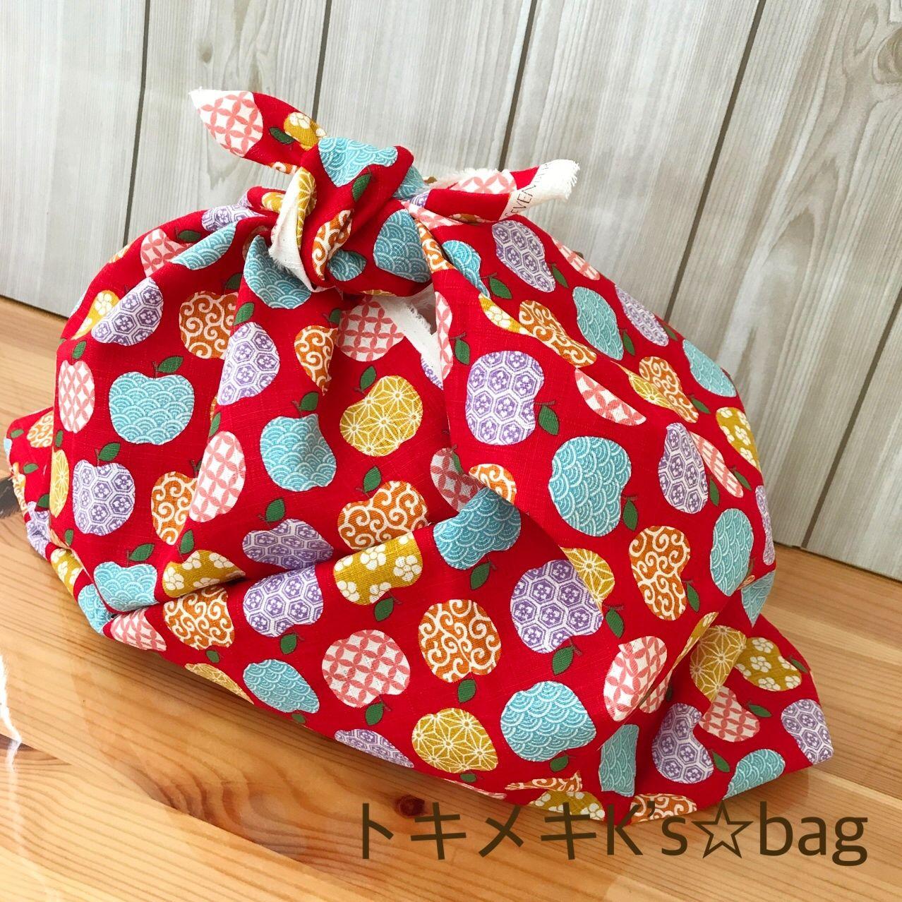 【あずま袋のお弁当包 B】