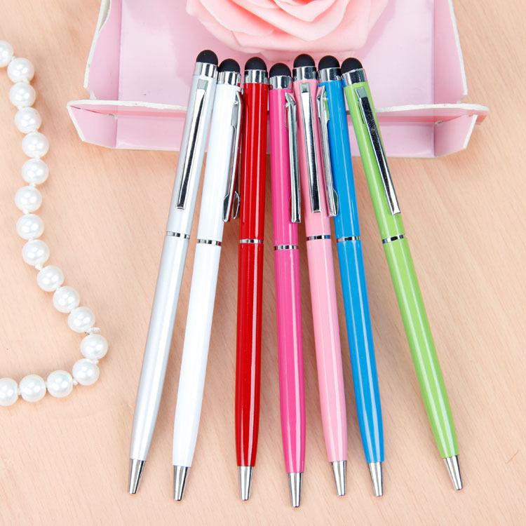 タッチペンノベルティ 多機能ボールペン 15色 10000本~  多機能 25円