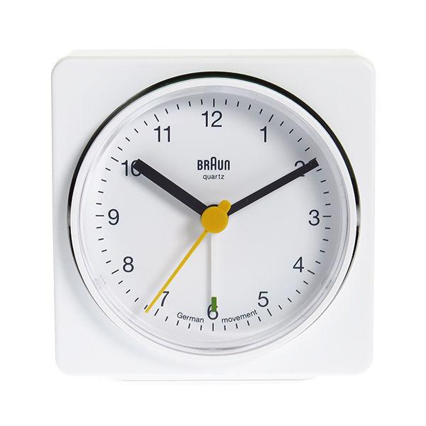 ブラウン BRAUN クロック 置き時計 BNC011WHWH ホワイト