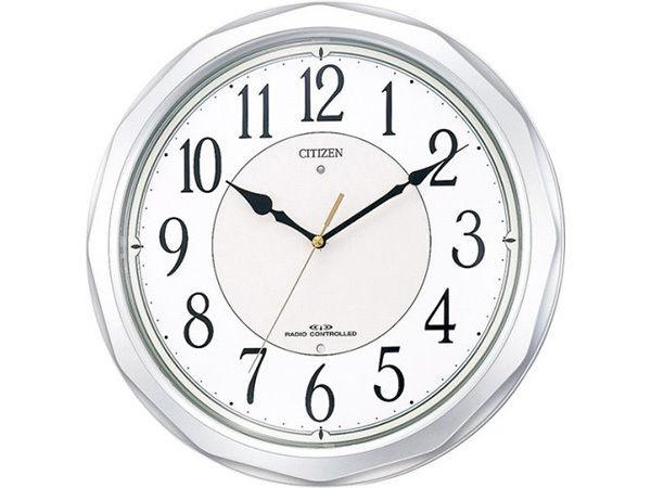 シチズン スタンダード ネムリーナサニー シンプル掛け時計 4MY642-019