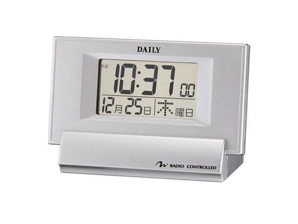 デイリー 電波 めざまし時計 ジャストウェーブR084 8RZ084DA19