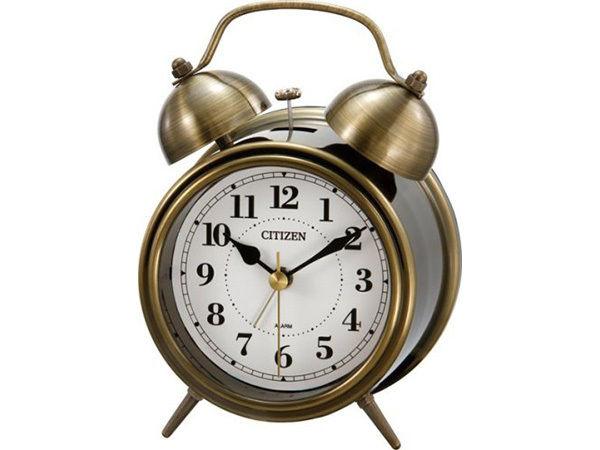 シチズン ツインベルRA06 スタンダード めざまし時計 8RAA06-063