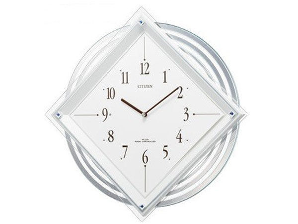 シチズン CITIZEN 電波掛け時計 パルミューズスターF 4MX403-N03