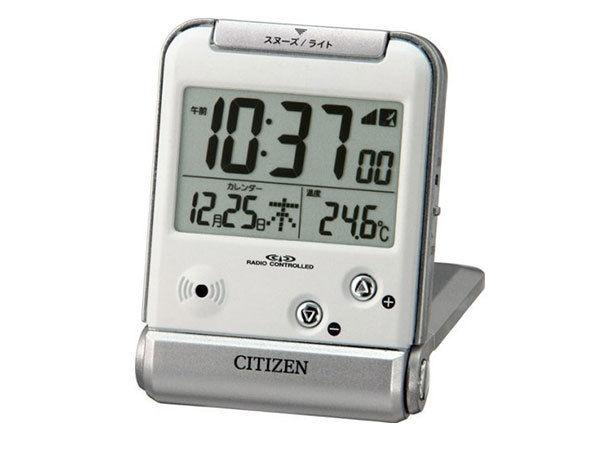 シチズン 電波 めざまし時計 パルデジットR081 8RZ081-019