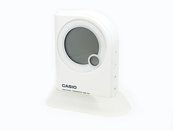 カシオ CASIO 電波 置き時計 DQD-410J-7JF ホワイト